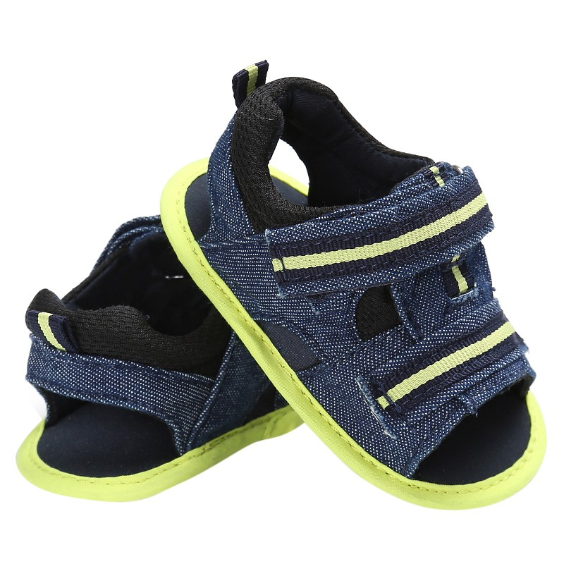 Summer Casual Style Kids Infant Toddler Baby BoysSandals Canvas Shoes Newborn Soft Shoes For 0-18M baby