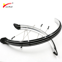 JS Bicycle Fenders 20 24 26 700C Plastic Bike Mudguard Wing For A Bicycle Bike Accessories Wings Fit For Camping Ciclismo CE