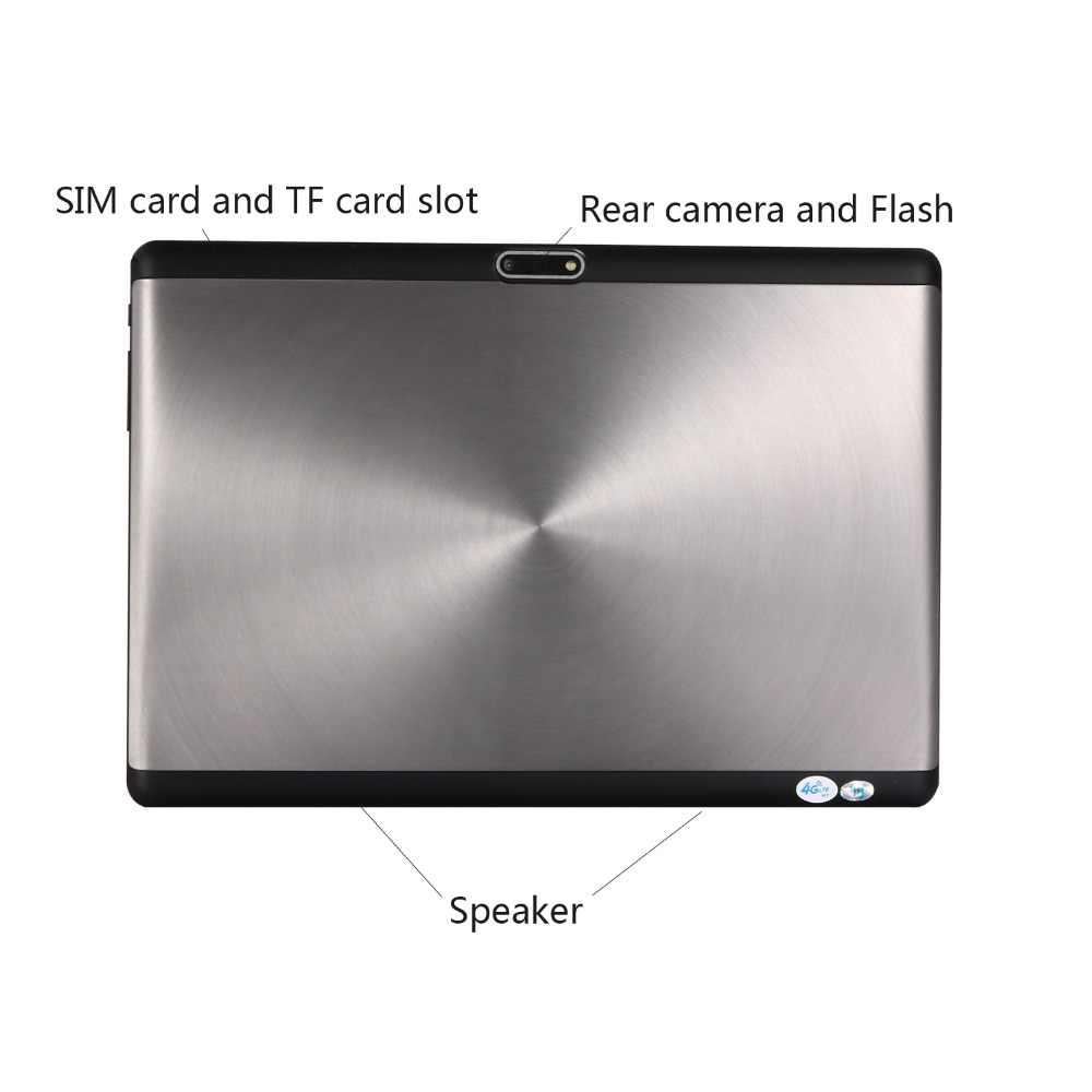 2019 חדש 2.5D מזג זכוכית 10 אינץ Deca Core 4G FDD LTE Tablet pc 6GB RAM 128GB ROM 1920*1200 אנדרואיד 8.1 Tablet 10.1 + מתנות