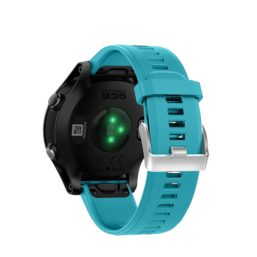Расширенный SmartWatch Starp Замена silicagel мягкие Quick Release комплект ремешок для Garmin Forerunner 935 GPS Бесплатная доставка