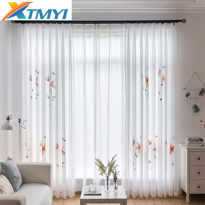 Tulle Curtains For Living Room Elegant Lotus Kitchen