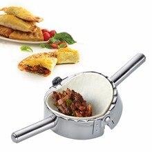 Edelstahl Multifunktions Ravioli Form Cutter Knödel-hersteller Form Wrapper Presser Formen Kochen Ausstechform Küche Werkzeug