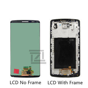 Image 2 - For LG G3 LCD D850 LCD Display with Touch Screen Digitizer Assembly With Frame For D851 D855 LCD repair parts Free Shipping
