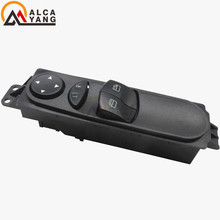Malcayang A906 545 1213 For Mercedes Sprinter W906 Master Power Window Switch FRONT LEFT A9065451213