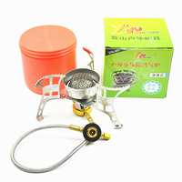 Outdoor windproof stove split portable portable stoves air furnace stoves