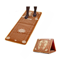 1Pc Tourmaline Blanket Mat Foot Massage Pad Foot Pad Shortfalls Energy Acupuncture Massage Mat Health Care Body Massager  C760