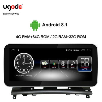 Ugode Autoradio Car Multimedia 10.25 Inches Radio Coche Screen Monitor C Class CLK For Mercedes Benz C Class W204/S204 Player image