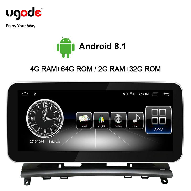 Ugode <font><b>Autoradio</b></font> Car Multimedia 10.25 Inches Radio Coche Screen Monitor C Class CLK For <font><b>Mercedes</b></font> Benz C Class <font><b>W204</b></font>/S204 Player image