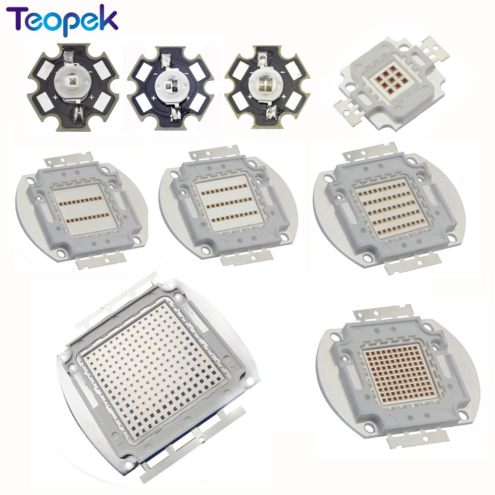 High Power LED Chip 730nm 850nm 940nm IR LED Infrared 1W 3W 5W 10W 20W 30W 50W 100W 850 nm 940 nm Emitter Light Lamp high power led chip grow light 380nm 840nm 1w 3w 5w 10w 20w 30w 50w 100w full spectrum plant growing garden bulb vegetable diode
