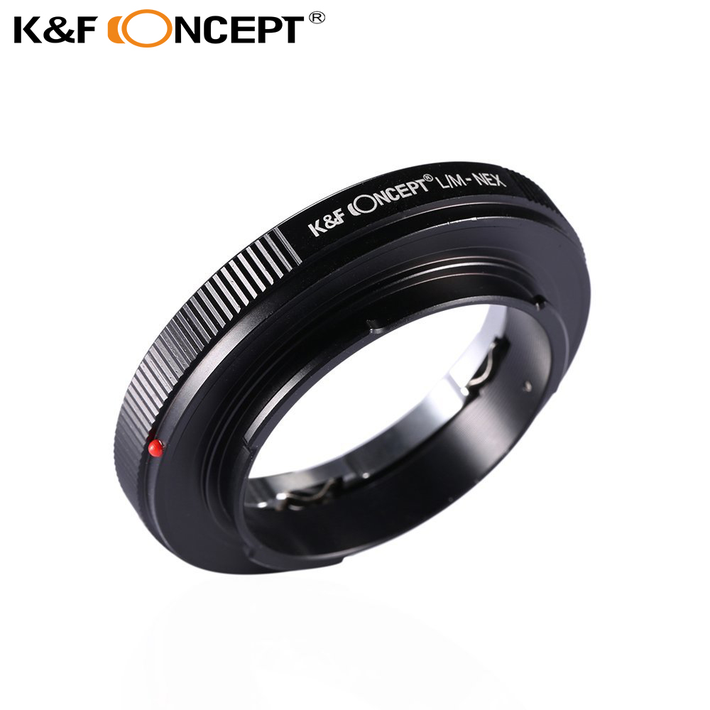 Bague D'adaptation d'objectif LM-NEX Compatible Avec Tous pour Leica M Mount Lens pour Sony NEX E Caméras à Monture Livraison Gratuite Numéro de Suivi