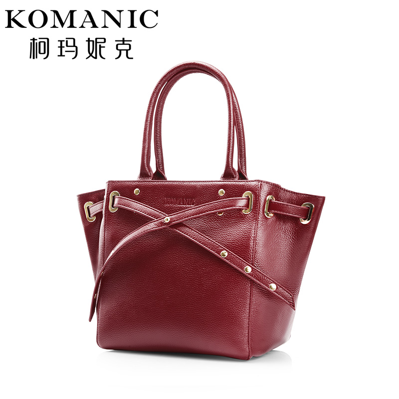 Luxury Brands Fashion Women Female Handbags Casual Totes Shoulder High Quality Free Shipping Genuine Cow Leather Bags KM6115 chispaulo women genuine leather handbags cowhide patent famous brands designer handbags high quality tote bag bolsa tassel c165