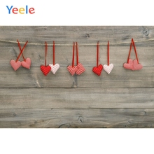 Yeele Red Love Heart Dark Wooden Board Texture Planks Res Show Photography Backgrounds Photographic Backdrops For Photo Studio yeele rose flower simple wooden board texture planks goods show photography backgrounds photographic backdrops for photo studio