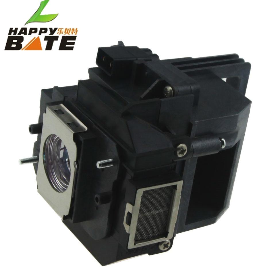 HAPPYBATE Lámpara de repuesto para proyector con carcasa ELPLP59 / - Audio y video casero