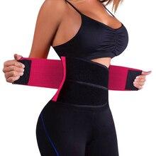 цена на Aibokang Waist Trainer Cincher Man Women Xtreme Power Hot Body Gym Shaper Girdle Belt Underbust Control Corset Firm Sports