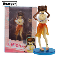 9.5 AlphaMax SkyTube Anime Ohmune Hazumi Bikini Cast Off Boxed 24cm PVC Anime Sexy Girl Action Figure Model Doll Toys Gift