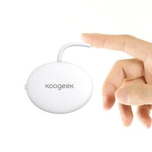 Image 3 - Koogeek poręczny inteligentny termometr dla dziecka profesjonalny bezprzewodowy 4.0 monitorowania bez przeszkadzania Baby 10 klej Patche zawarte
