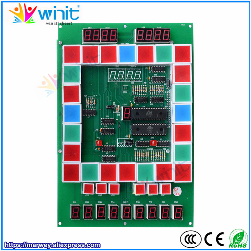 Marwey Fruit King Mario game board popular coin operated casino PCB circuit game board for slot game machine 10pcs new mario game pcb for wolf 2 casino slot game board for arcade game machine 10 pcs
