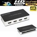 Правда 4 К HDMI Switcher 5X1 переключатель с пультом дистанционного управления HDMI 5 в 1 из 1.4 В для PS4, HDTV, DVD, STB и т. д.