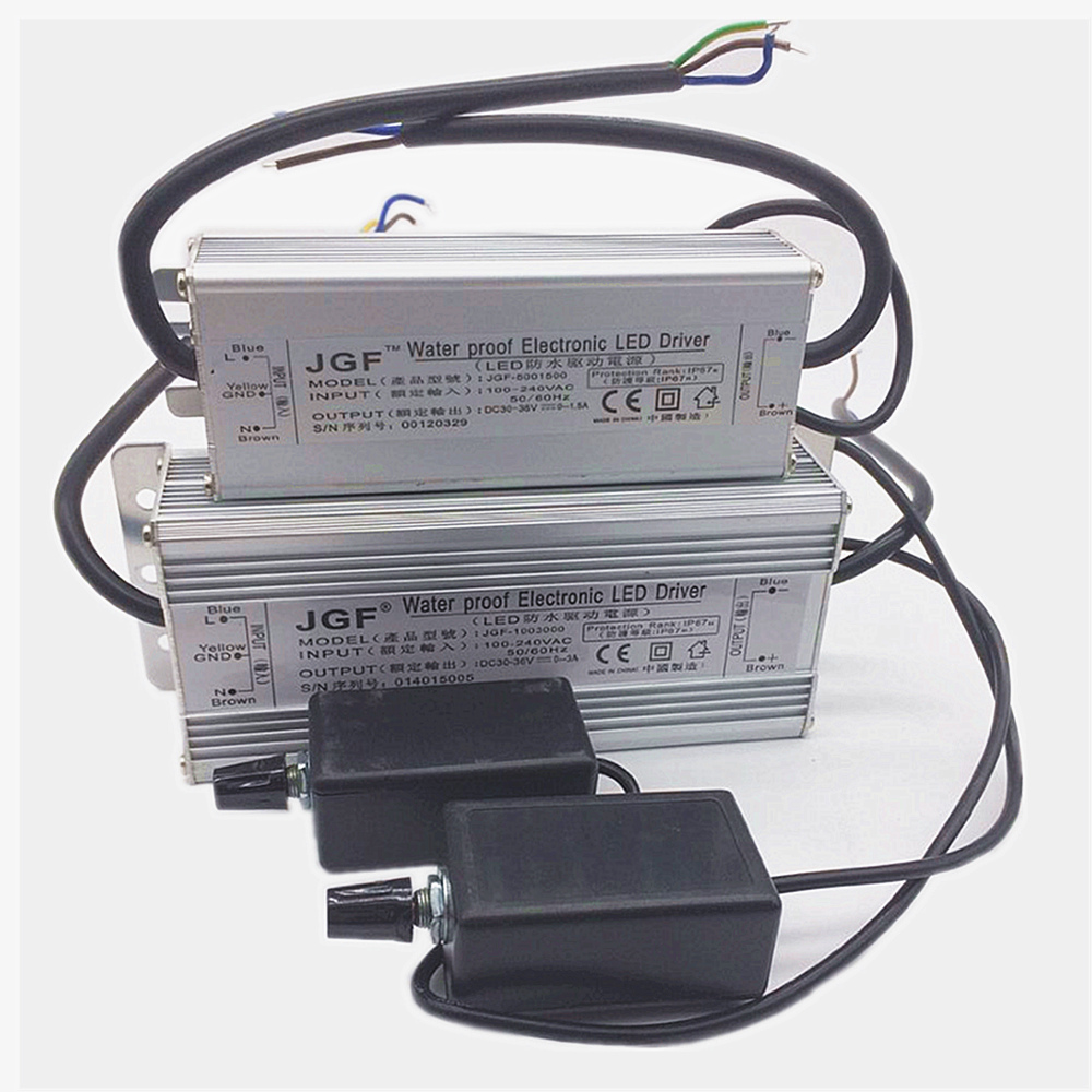 50W 100W 150W 200W HighWaterproof Dimmer Diver Power LED Driver Dimmable IP67 driving power supply led driver kvp 24200 td 24v 200w triac dimmable constant voltage led driver ac90 130v ac170 265v input
