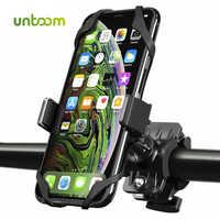 Untoom Fahrrad Telefon Halter Universal Handy Fahrrad Motorrad MTB Lenker Halterung Cradle für iPhone X Xs Max 8 7 plus Samsung