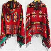 2017 бренд осень-зима Кашемир Пончо feminino Inverno платки и палантины пончо и Накидки Модные кисточкой пашмины Для женщин