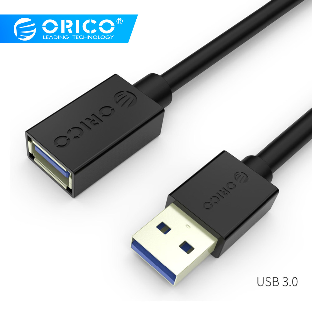 Webcam USB 3.0 Extension Cable VCZHS 2-Pack Short USB Extension Cable 2 ft USB Male to Female Extension Cable for USB Flash Drive Card Reader,Keyboard,Playstation,Xbox,Oculus VR,Printer
