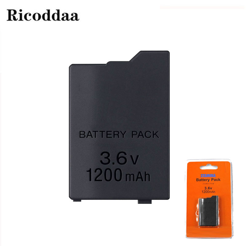For Sony PSP 2000/3000 1200mAh 3.6V Rechargeable Battery Pack Replacement Battery For PSP2000/3000 Console Game Accessories