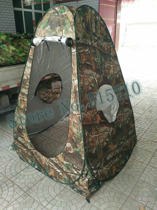 Camouflage pop up Shower watching bird bath shed fishing photography dressing change room toilet ourtdoor camping tent