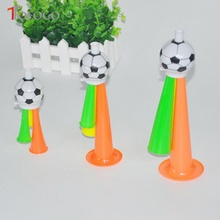 Football Design Noise Maker Kids Soccer Fans Fighting Trump Tiny Noice Toys 3 Size Choose