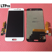 LTPro 100 Tested Work NEW Black White LCD Display Touch Screen Digitizer Assembly For HTC 10