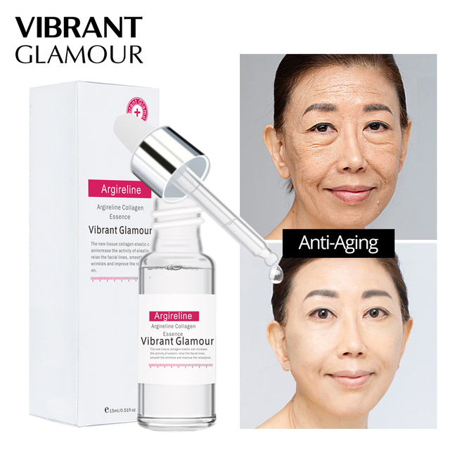 Face Serum Hyaluronic Acid Moisturizor Vitamin C Whitening Facial Serum Snail Essence Argireline Six Peptides Skin Care Set