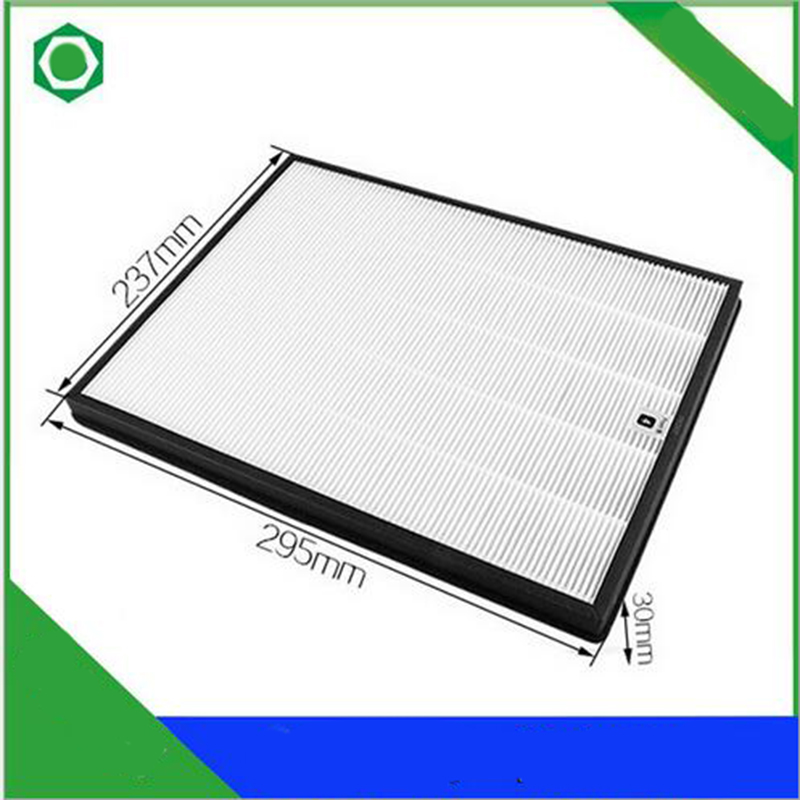 29.5*23.7*3cm Air Purifier Parts HEPADust Collection Filter AC4104 for Philips AC4025 AC4026 Air Purifier hot sale 295 240 30mm dust collection hepa filter screen to clean air with high efficiency for ac4025 ac4026 air purifier
