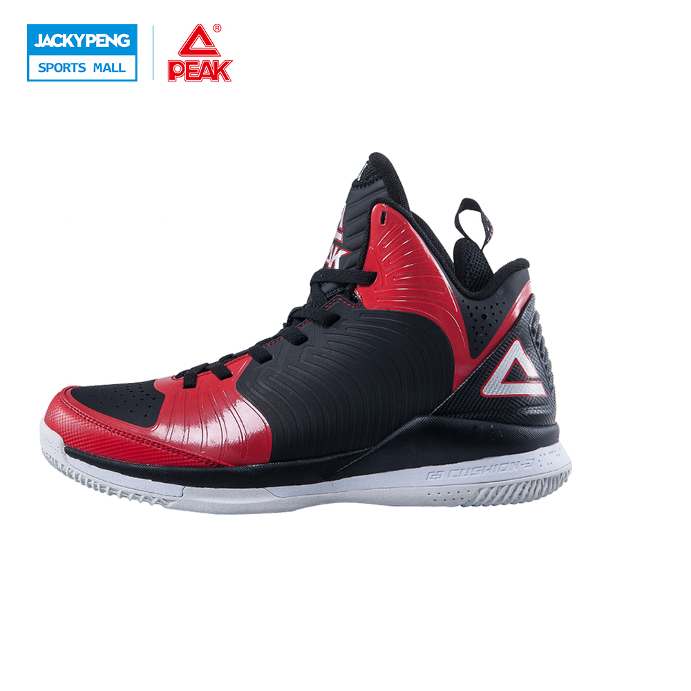PEAK SPORT Star Models BATTIER IX New Men Basketball Shoes FOOTHOLD Cushion-3 Tech Competitions Sneakers Athletic Training Boots peak sport star series george hill gh3 men basketball shoes athletic cushion 3 non marking tech sneakers eur 40 50