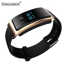 EDWO DM8 Смарт Браслет Часы Smartband IP68 Водонепроницаемый Монитор Сердечного ритма Браслет Здоровья Фитнес-Трекер Для iOS Android