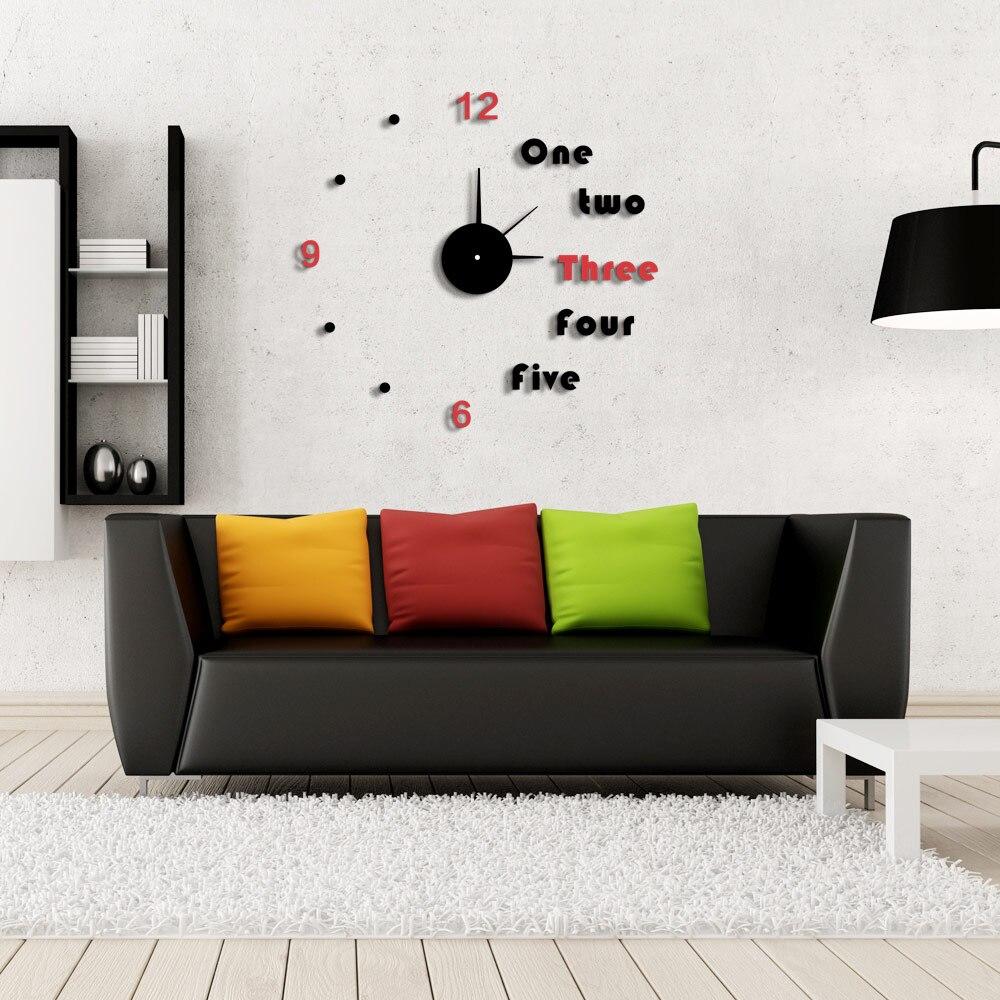 Fantastic Black Clocks For Living Room Images - Living Room Design ...