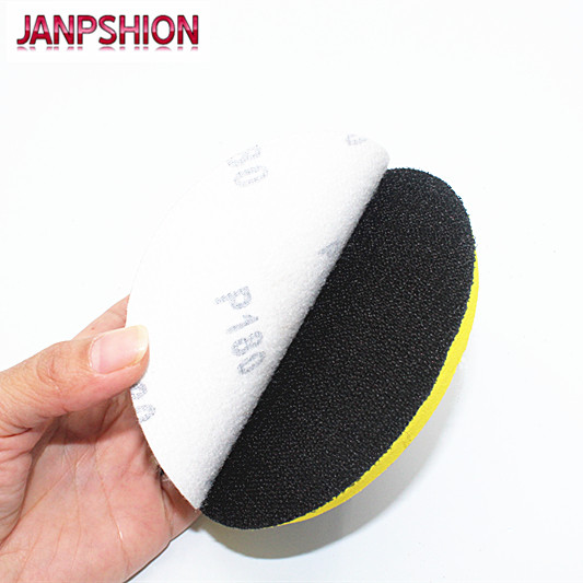 "JANPSHION 100pcs 4"" 100mm Peel & Stick Sandpaper Sanding Disc for Sander with Grit 60 80 120 180 240 320 400 600 800 1000 1200"