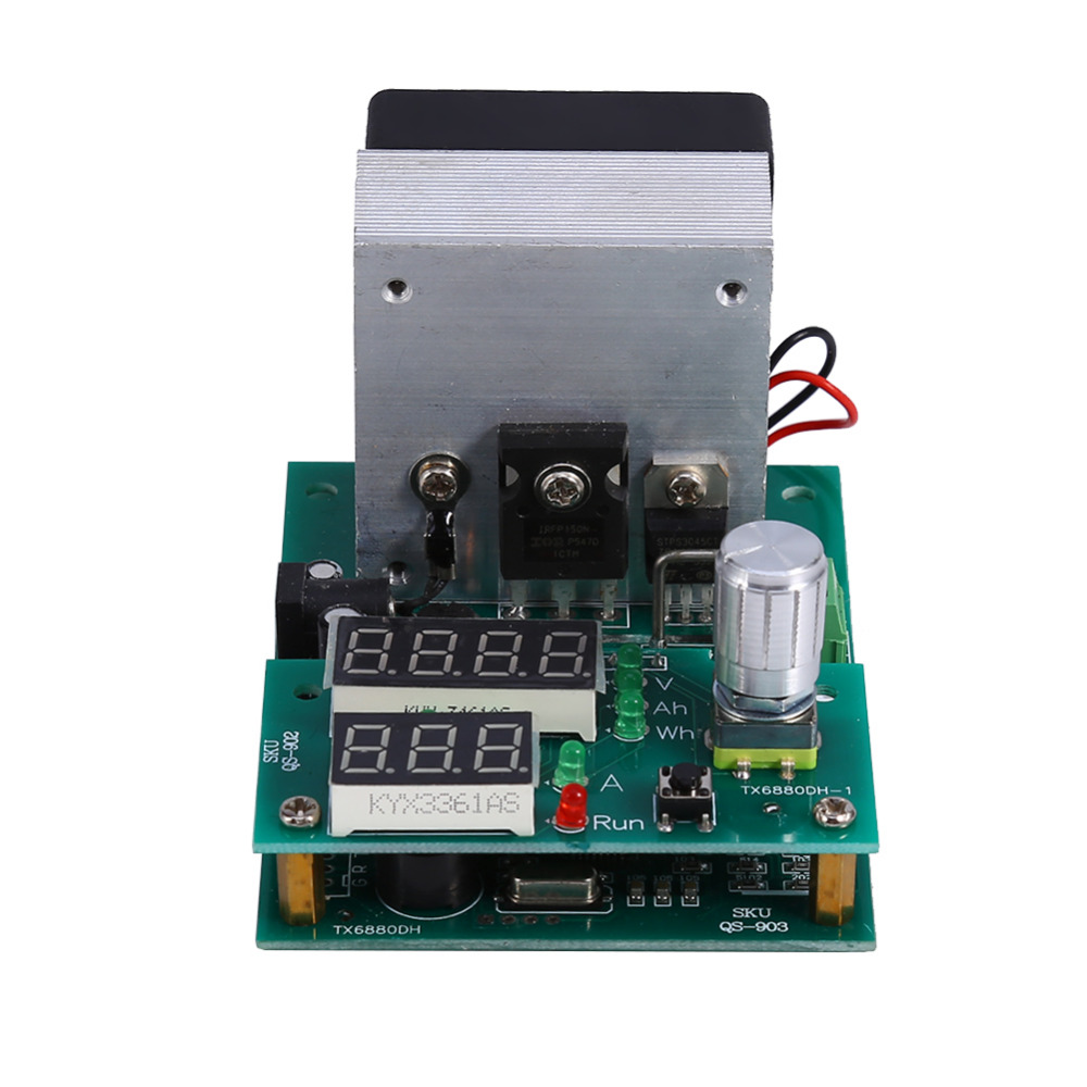 Multifunctional Module 9.99A 30V Constant Current Electronic Load Module Battery Capacity Tester Burn-in Test Module 60W