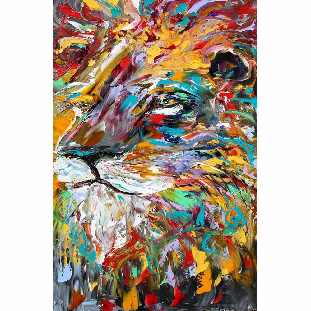 Aliexpress Com Buy High Quality Thick Flocked Modern: Handmade High Quality Thick Knife Abstract Oil Painting