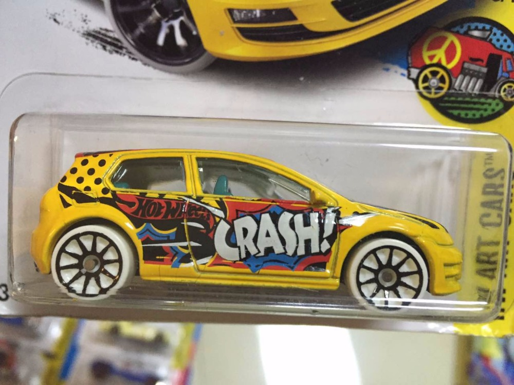 New Arrivals 2017 Hot Wheels Volkswagen Golf MK7 Metal Diecast Cars Collection Kids Toys Vehicle For
