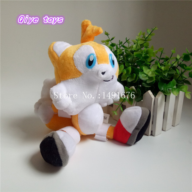 New Sonic The Hedgehog Tails Ultimate Flash Anime Doll Fox Plush