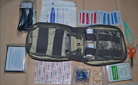 Freeshipping Army Individual First Aid Kit IFAK PSK Combat Survival Kit With Contents