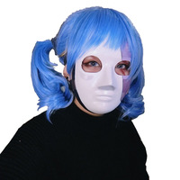 2019 New Game Sally Face Cosplay Mask Horror Halloween Party Latex Masks Costume Props