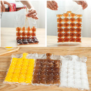 SOLEDI Ice Cube Tray Mold Making Bags Drinking Kitchen