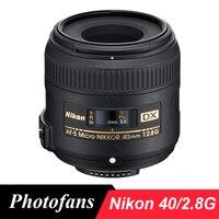 Nikon 40 2.8g Dx Micro Lens Nikkor 40mm f/2.8G AF S Lens for D3400 D3300 D3200 D5500 D5300 D5200 D90 D7100 D7200 D500 D300|lens nikkor|nikon fnikkor lens -