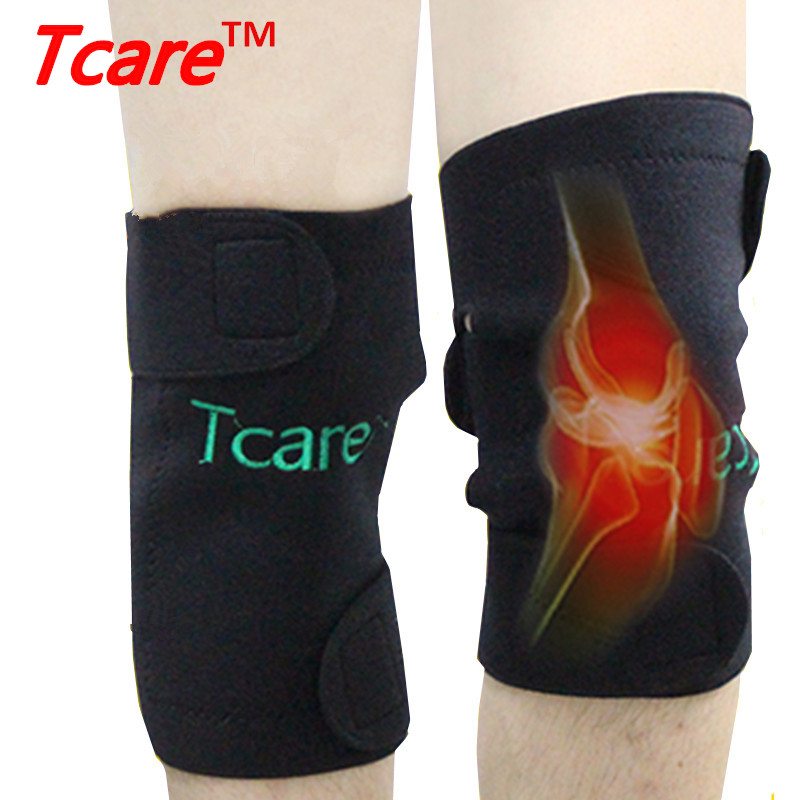 Tcare Health Care Self-Heating Tourmaline Knee Brace Knee Қолдау Magnetic Therapy Knee Pads Health Products