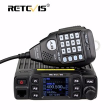 Retevis RT95 Car Walkie Talkie Dual Band Amateur Mobile Radio Station 25W 200CH VHF UHF DTMF
