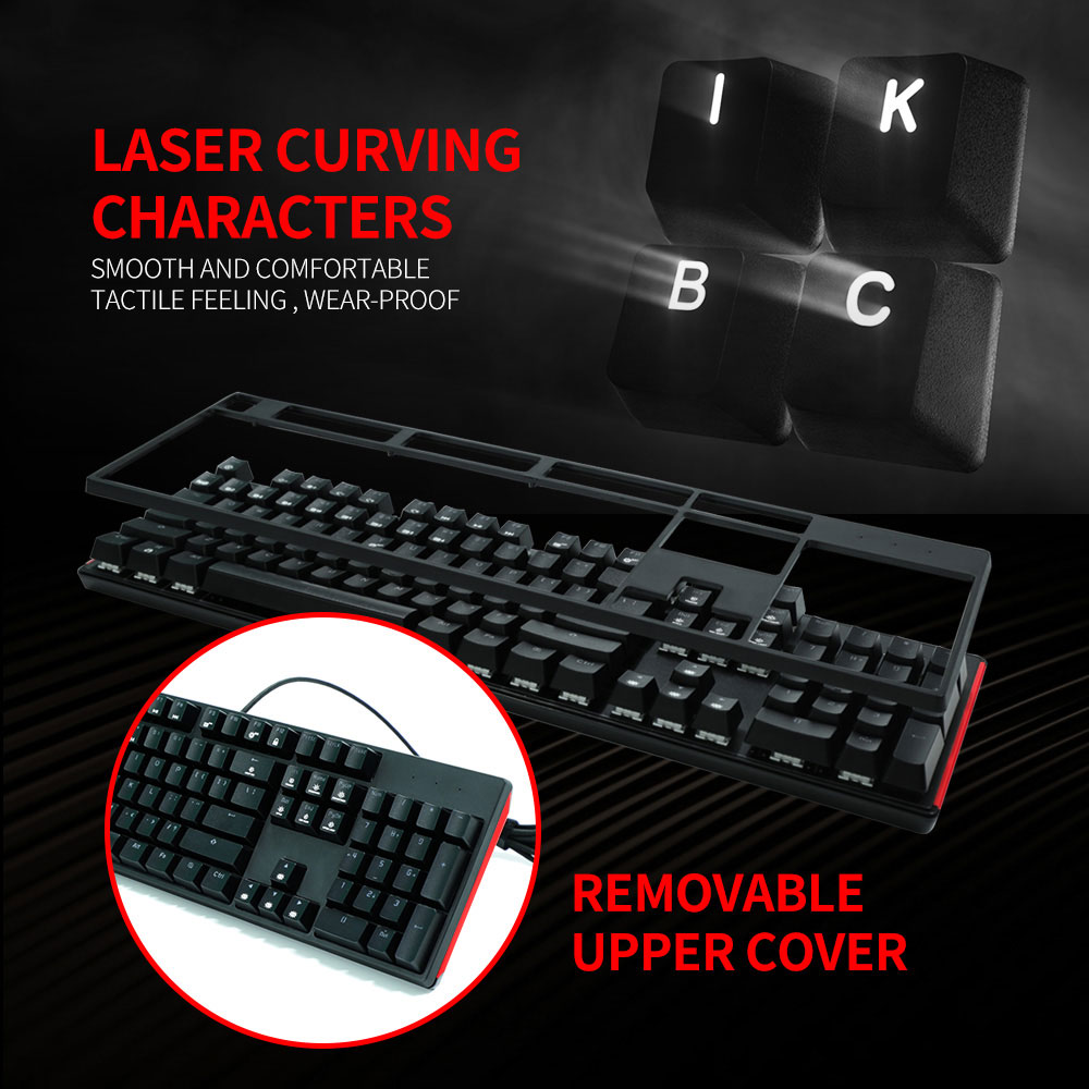HEXGEARS Swap Keyboard Swappable Switch Hot Swap pcb Mechanical Keyboard 104 Keys Kailh Box Switch Gaming Pro Gamer Keyboard jv33 keyboard pcb assy printer parts