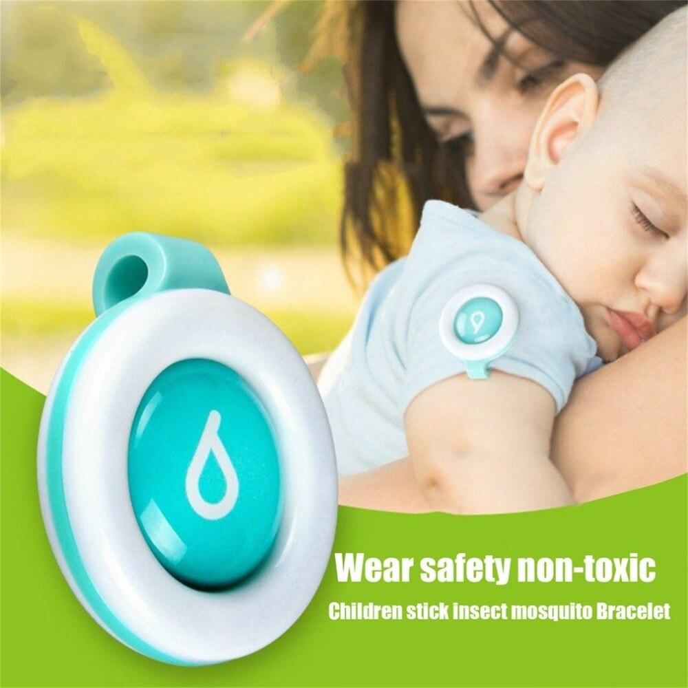 Herbruikbare Mosquito Repellent Badge Button Baby Zwangere Vrouw - Tuinbenodigdheden