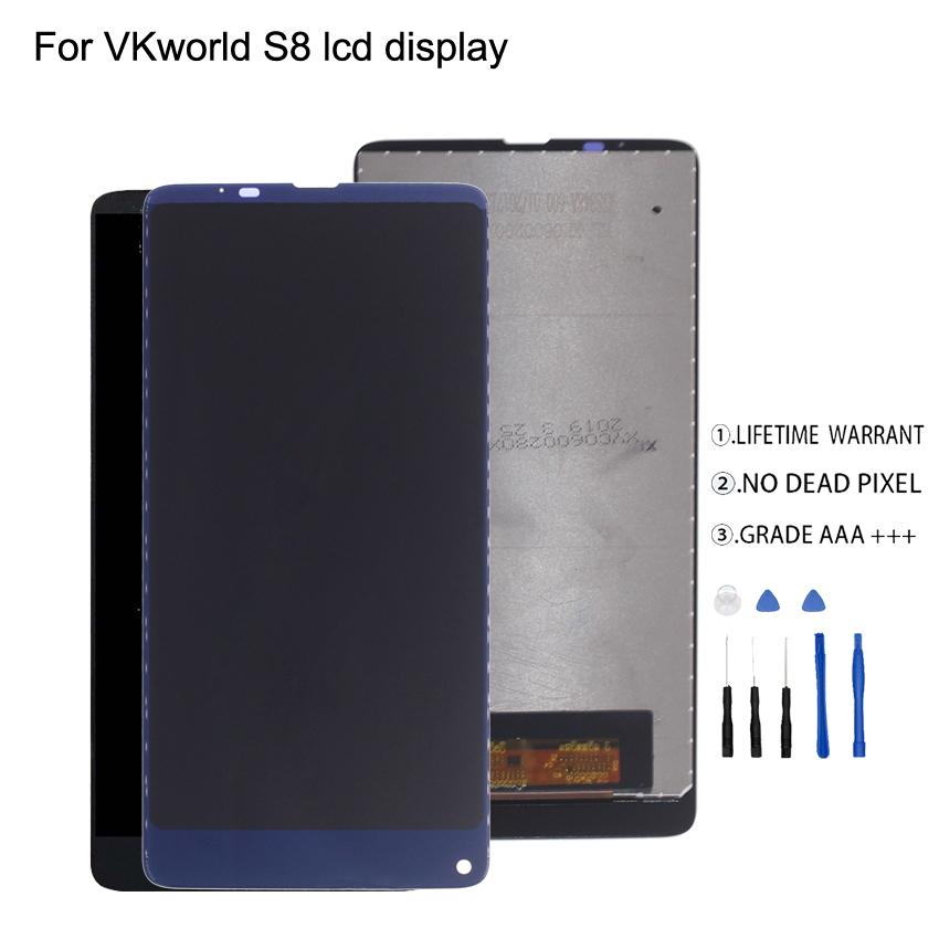 Original For VKworld S8 LCD Display Touch Screen Digitizer Quality Phone Parts