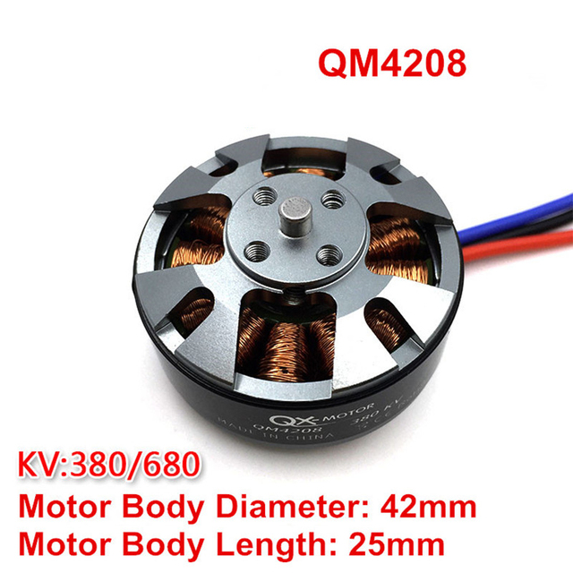 , Tarot QM4208 3508 680 380KV CW Brushless Motors Disc Type Motors for S550 650 680 FPV RC Multicopter Quadcopter 6S Lipo Battery